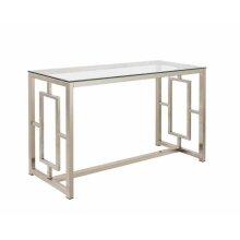 Metal Sofa Table With Glass Top