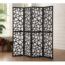 4-PANEL WOOD SCREEN