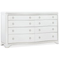 Bedroom Modern Romance Eight-Drawer Dresser Product Image