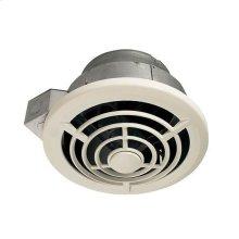 Ceiling Mount Utility Fan with Vertical Discharge, 210CFM; Ventilation Fans