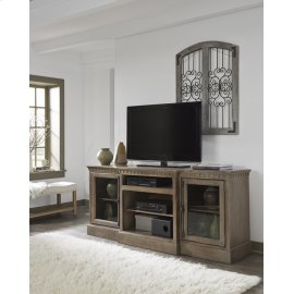 74 Inch Console - Antique Mist Finish