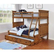 Coronado Rustic Honey Twin-over-full Bunk Bed