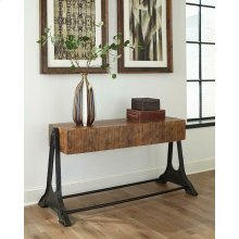 Recycled Wood Sofa Table