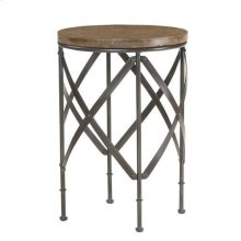 Hidden Treasures Round Metal Table
