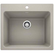 Blanco Liven Laundry Sink - Concrete Gray