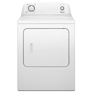 Amana6.5 cu. ft. Electric Dryer with Wrinkle Prevent Option White