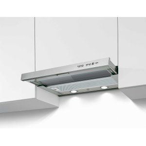 Bertazzoni24 Telescopic extension hood,1 motor 300 CFM Stainless Steel