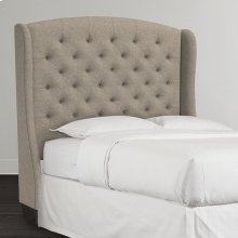 Custom Uph Beds Florence Clipped Corner Queen Headboard