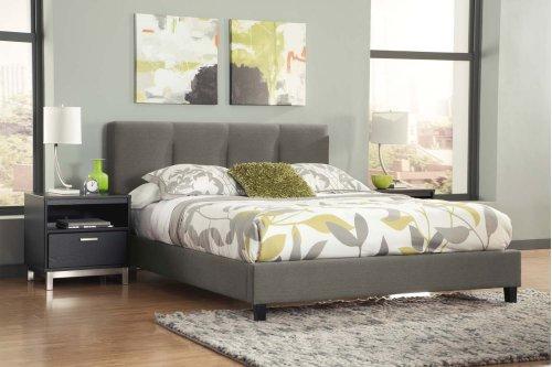 Masterton - Gray 2 Piece Bed Set (Queen)
