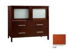 "Minerva 36"" Bathroom Vanity Base Cabinet in Cinnamon"