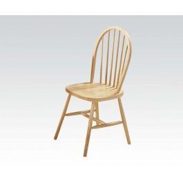 "36""h Nat. Windsor Chair"