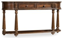 Living Room Leesburg Demilune Hall Console