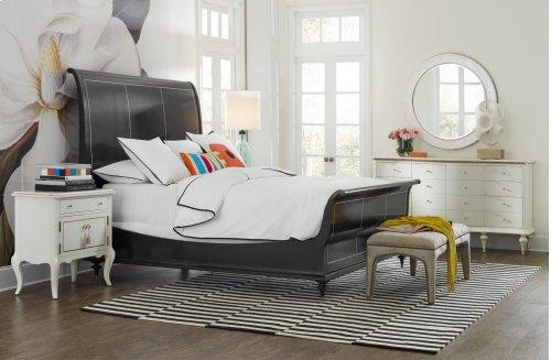 Bedroom Mystique One-Drawer Two Door-Nightstand