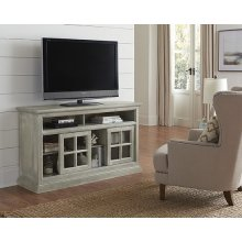 54 Inch Console - Antique Mint Finish