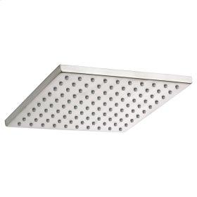 8 Inch Square Rain Showerhead - Brushed Nickel