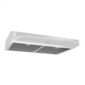 BroanBroan® Elite 30-Inch Convertible Under-Cabinet Range Hood, White