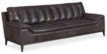 Living Room Kandor Leather Stationary Sofa