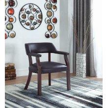 Modern Burgundy Guest Chair