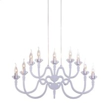 Supercell Ceiling Lamp Silver