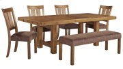 Tamilo - Gray/Brown 6 Piece Dining Room Set Product Image
