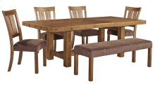 Tamilo - Gray/Brown 6 Piece Dining Room Set