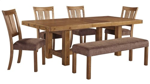 Tamilo - Gray/Brown 5 Piece Dining Room Set