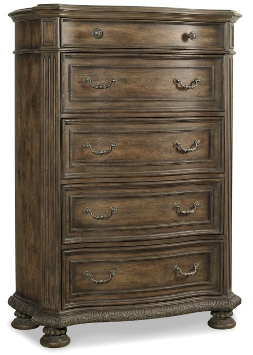 Bedroom Rhapsody Five Drawer Chest