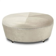 Cocktail Ottoman With Crystals