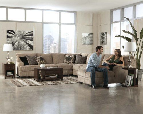 4-Piece Sectional with RAF Cuddler