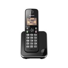 Expandable Cordless Phone with Amber Backlit Display - 1 Handset - KX-TGC350B