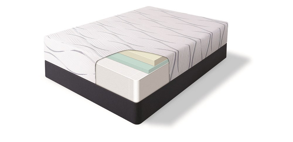 500080518twinserta Perfect Sleeper Elite Foam