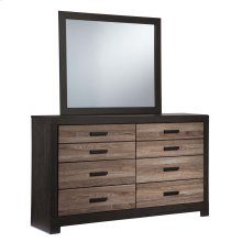 Harlinton - Warm Gray/Charcoal 2 Piece Bedroom Set