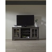 66 Inch Console - Storm Gray Finish