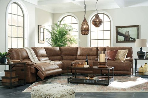 Grattis - Saddle 6 Piece Sectional