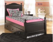 Jaidyn - Black 2 Piece Bed Set (Twin)