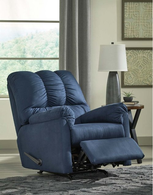 Darcy Rocker Recliner - Blue