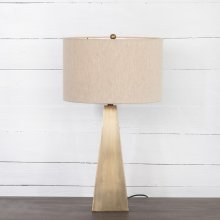 Brass Finish Leander Table Lamp