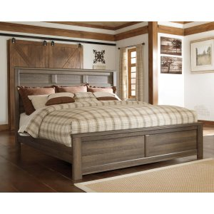 Ashley Furniture Juararo - Dark Brown 3 Piece Bed Set (Cal King)