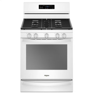 5.8 cu. ft. Freestanding Gas Range with Frozen Bake Technology - WHITE