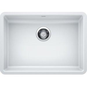Blanco Precis Ada Single Bowl - White