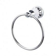 Hudson Bath Ring - Polished Chrome