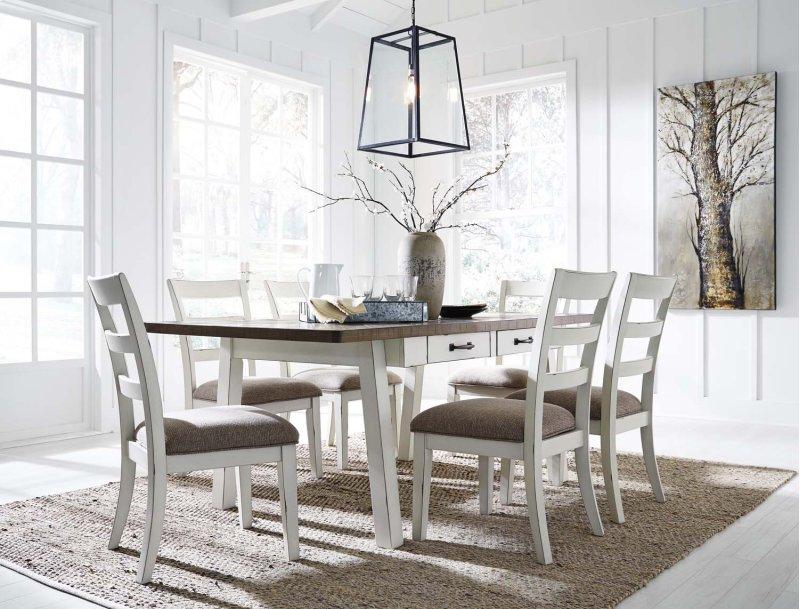 d73925 inashley furniture in orange, ca - rectangular dining