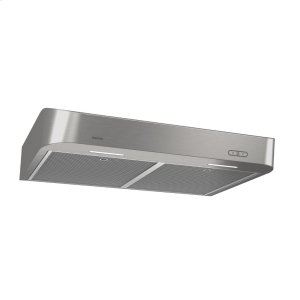 BroanBroan® 30-Inch Convertible Under-Cabinet Range Hood w/ Easy Install System, 250 CFM, Stainless Steel