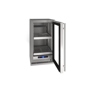 "U-Line18"" Refrigerator With Stainless Solid Finish (115 V/ 60 Hz Volts / 60 Hz Hz)"