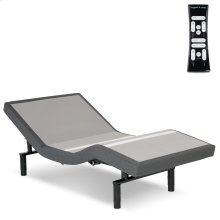 S-Cape 2.0 Adjustable Bed Base with Wallhugger Technology and Full Body Massage, Charcoal Gray Finish, Twin XL