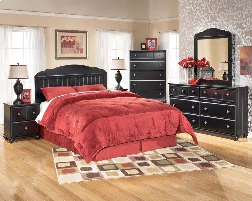 Jaidyn - Black 2 Piece Bedroom Set