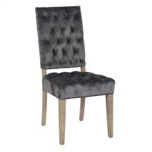 Rosalind Side Chair Steel
