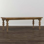 """Bench*Made Maple 108"""" Georgian Table Product Image"""