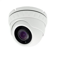 Auto focus Dome Camera Auto Focus 5X Zoom POE IP 5MP - White