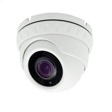 Auto focus Dome Camera Auto Focus 5X Zoom POE IP 5MP - White